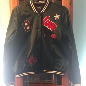NWT bomber style jacket Junior Sz XL